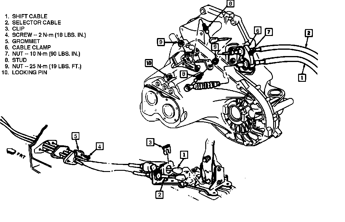 2003 Chevy Cavalier Transmission Diagram Trusted Wiring 2002 Engine 2004 Automatic Illustration Of Ford F 250 Steering Column