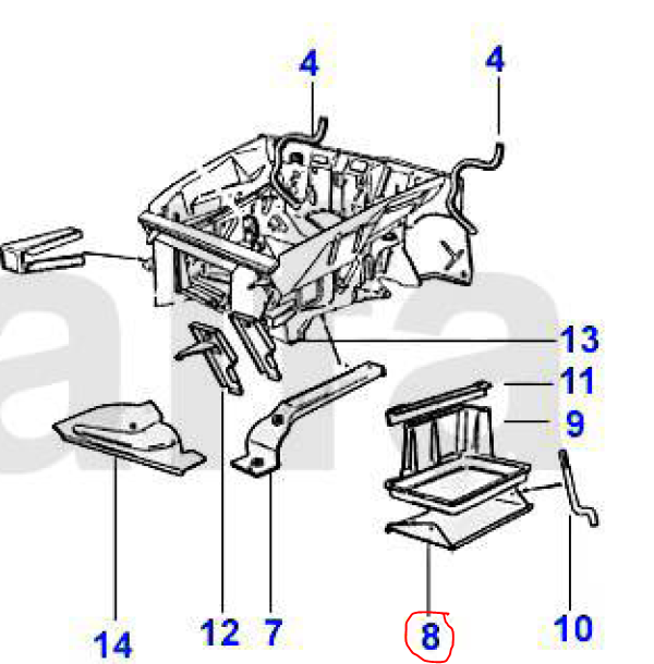 Where Is The Battery Located In A 1987 Alfa Romeo Spider?