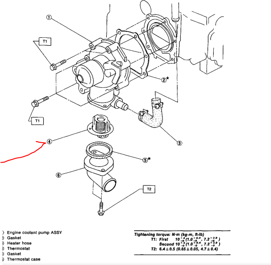 subaru legacy engine diagram water pump chrysler town