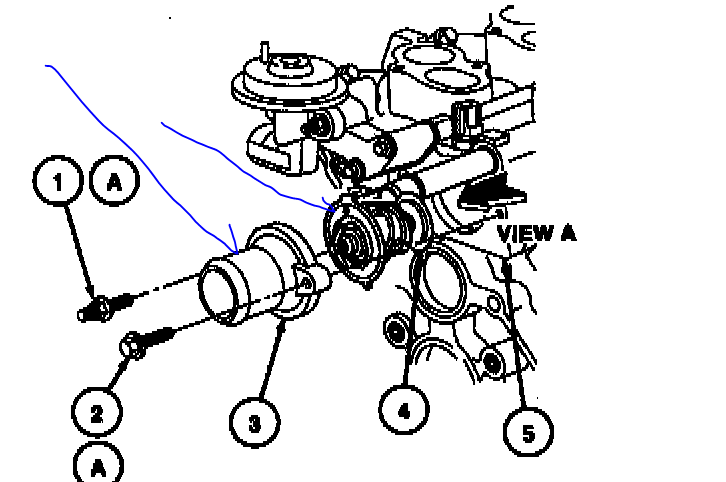 2003 Ford Windstar Thermostat Diagram