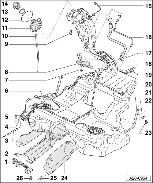 1 8t Fuel Diagram