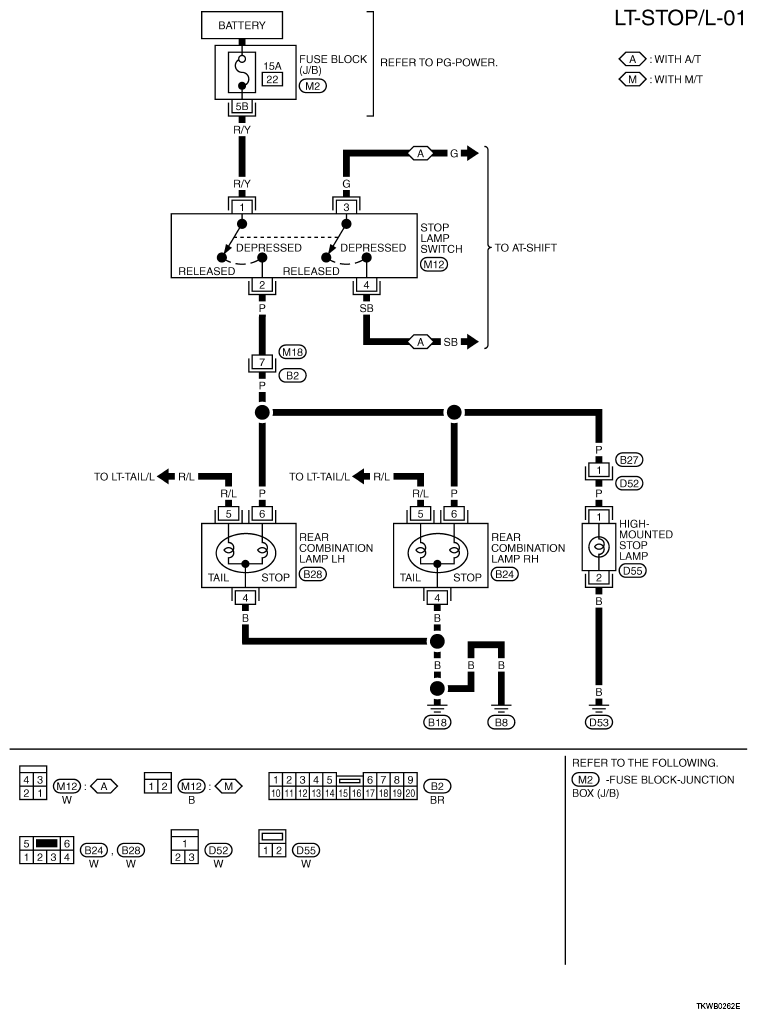 wiring diagram for nissan x trail 06 le