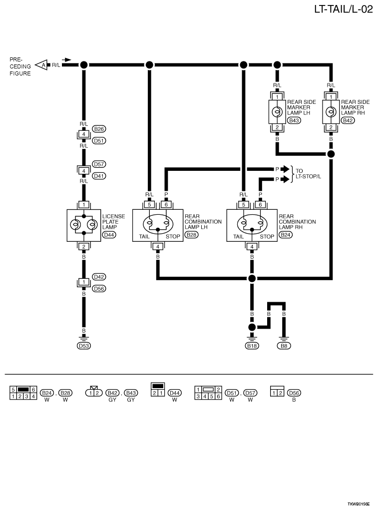 2002 Nissan Trail Wiring Diagram : Wiring diagram for nissan trail le