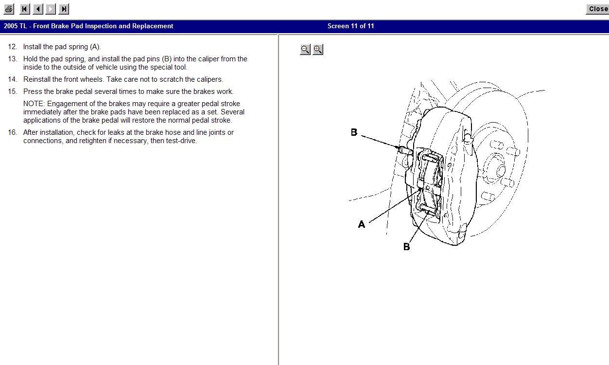 2005 Acura Tl Front Diagram Acura Auto Parts Catalog And