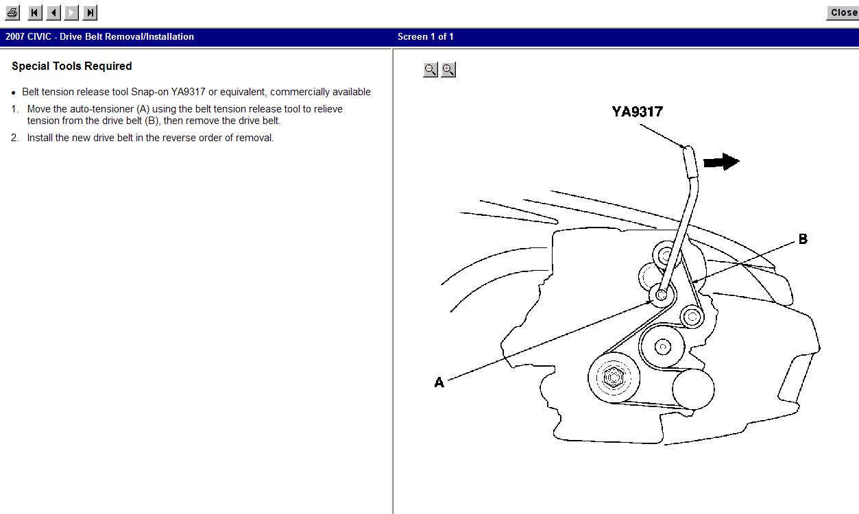 1990 honda civic seat belt diagram 2007 civic si belt routing civic belt diagram