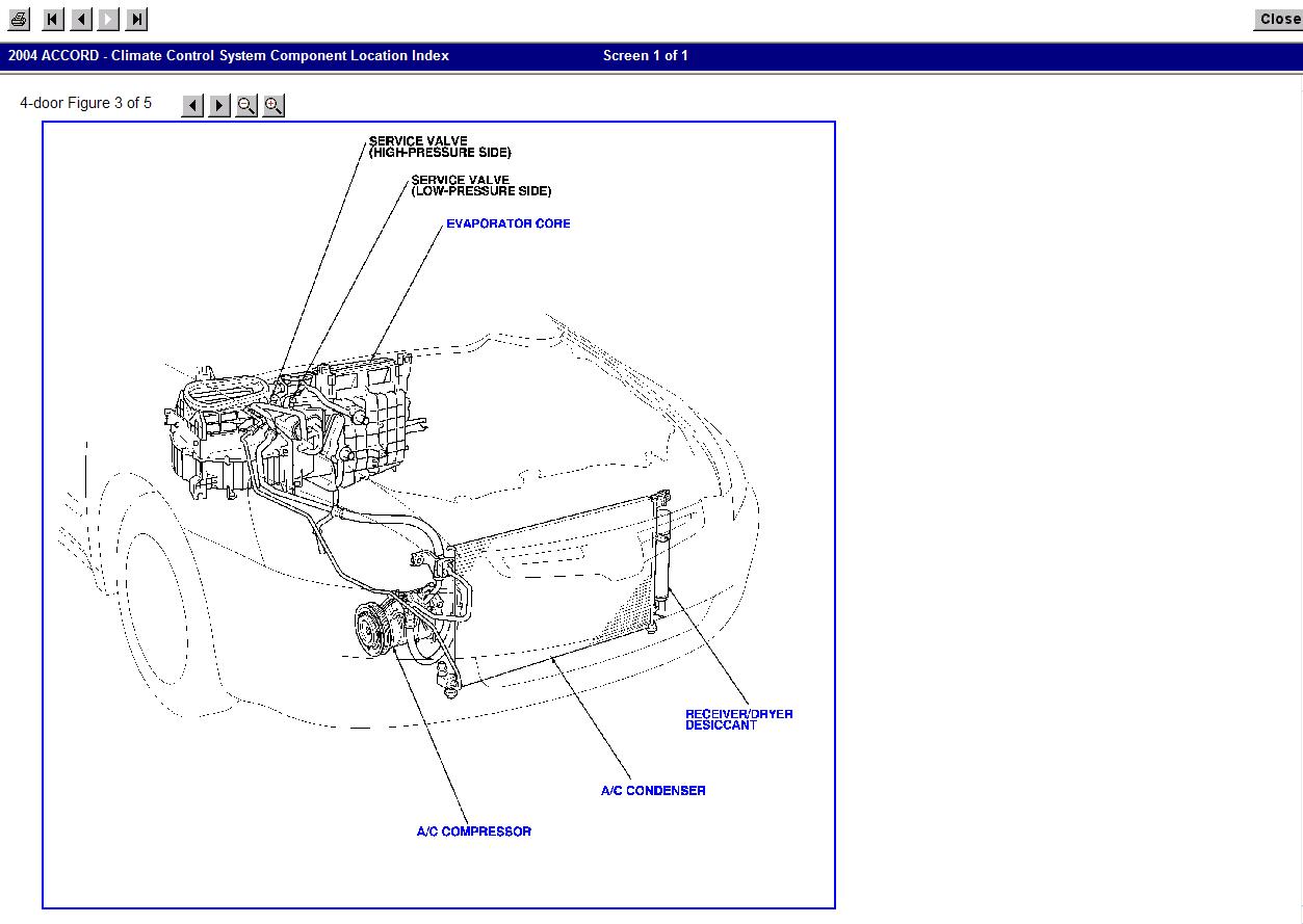 2003 Honda Civic Air Conditioning System Diagram Wiring 2004 Accord Ac Blogs Motor