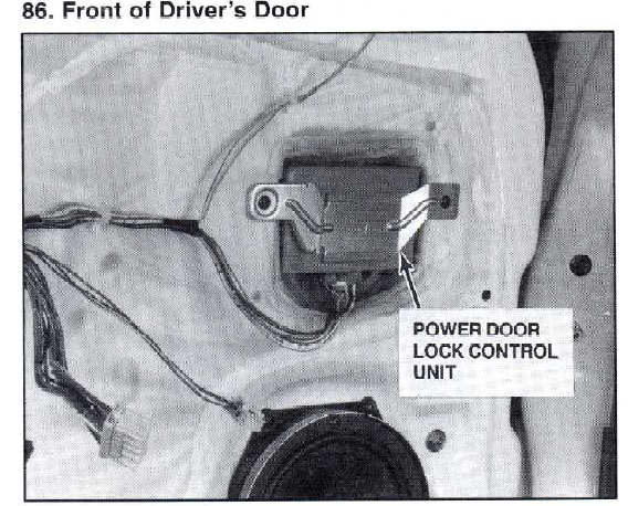 Power Locks Not Working On My 94 Honda Civic 2 Door