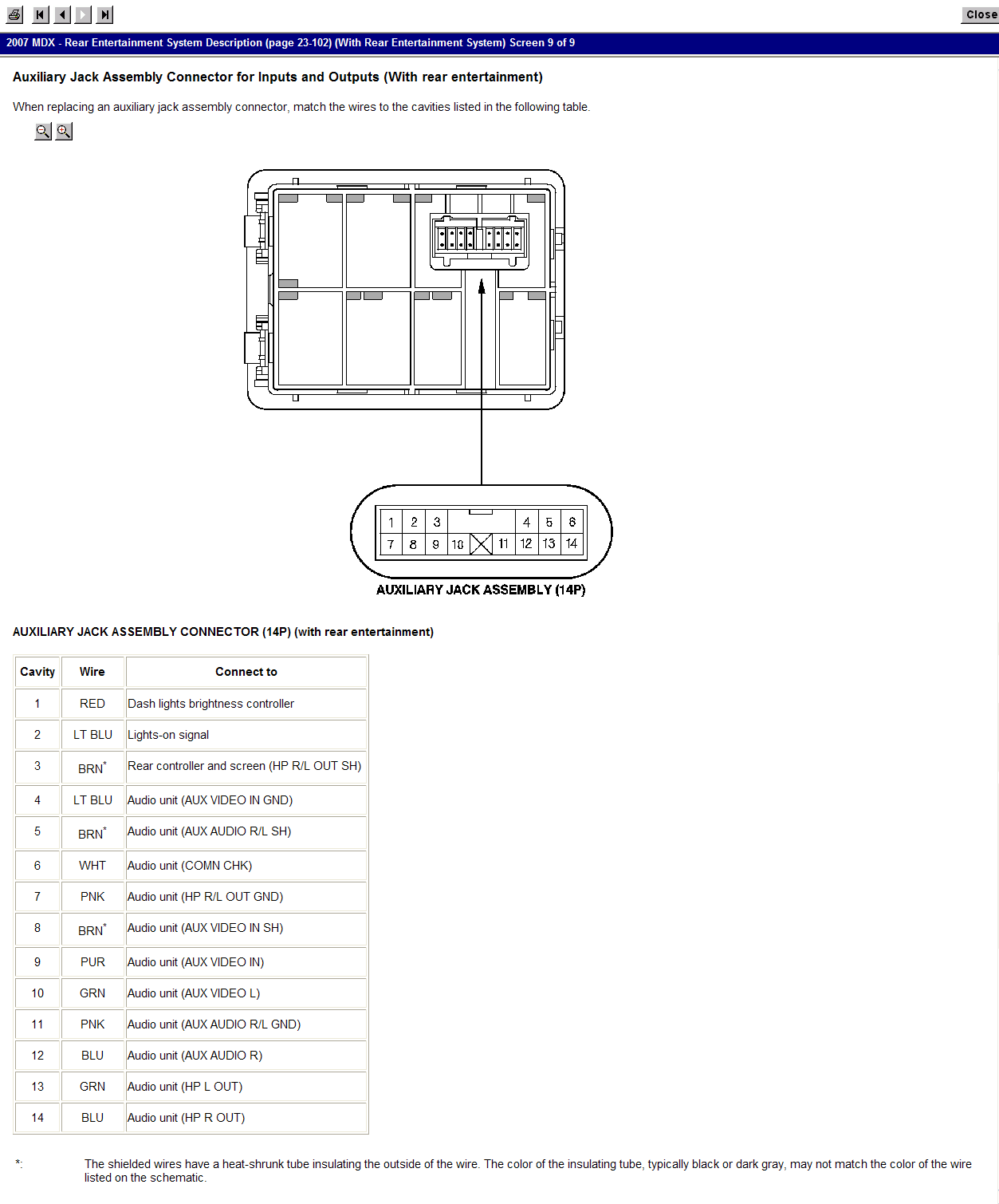 Need Wiring Diagrams For Mdx