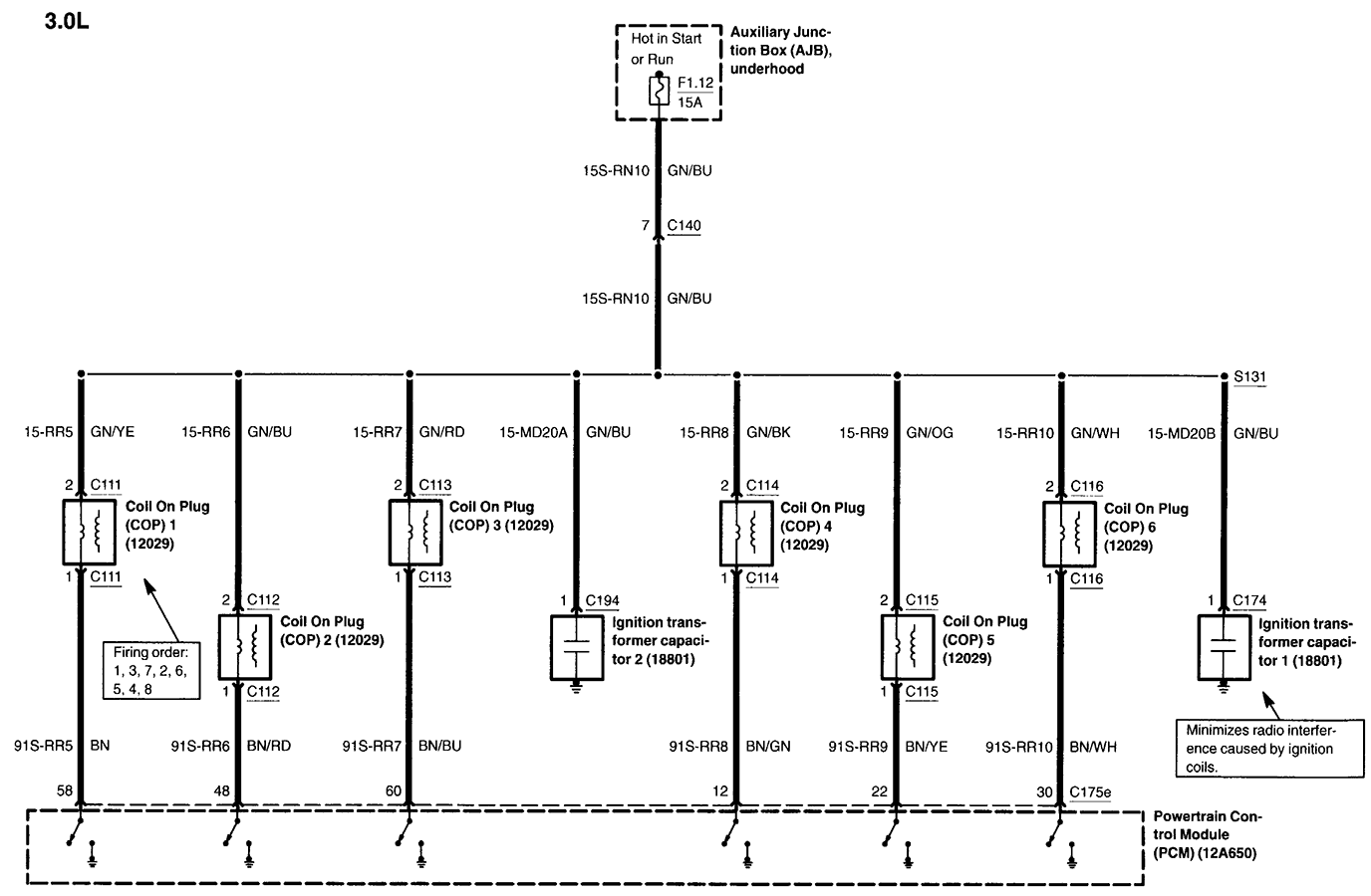 wiring schematics for 05 lincoln ls