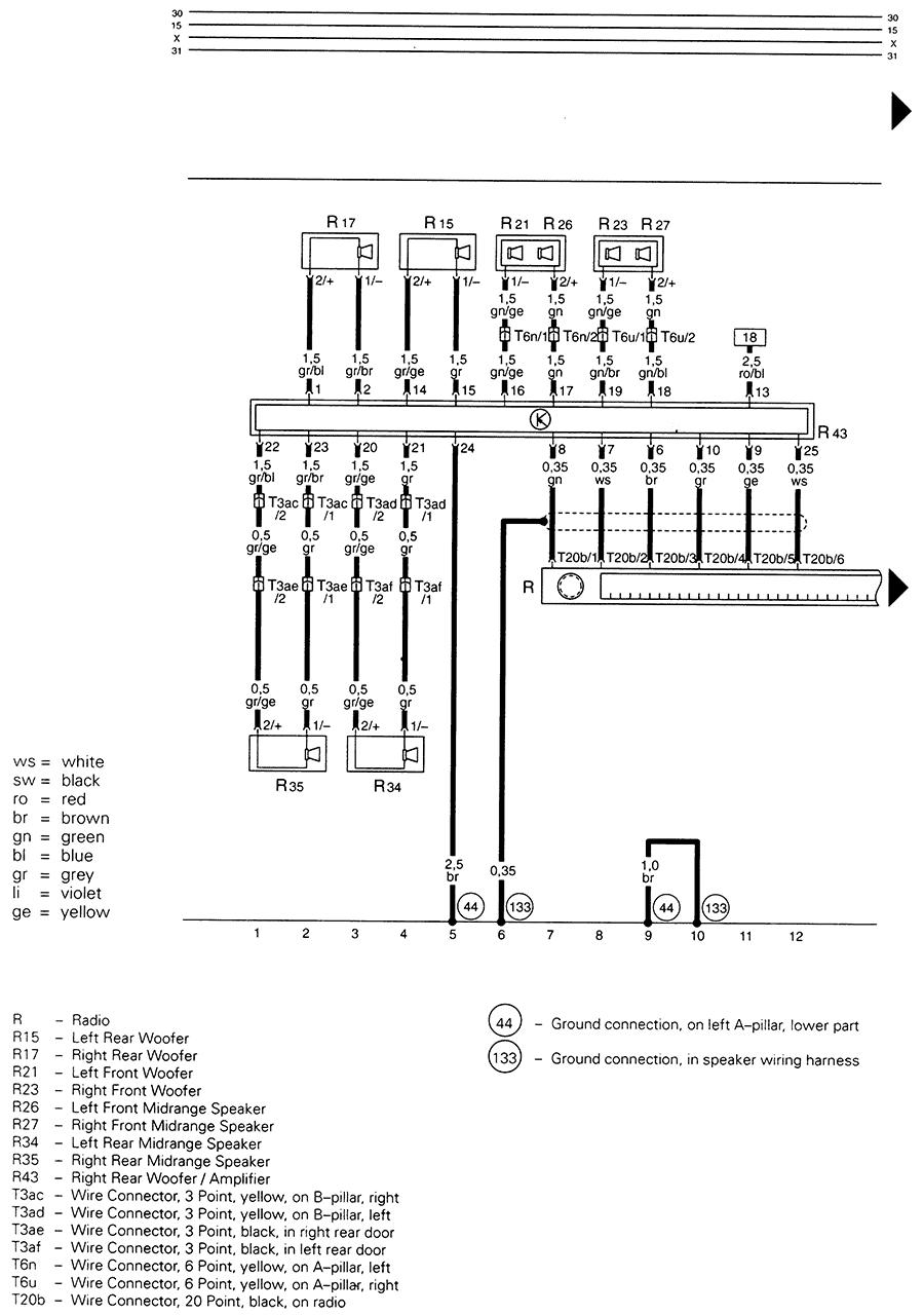 wiring diagram for 1998 audi a4  u2022 wiring diagram for free
