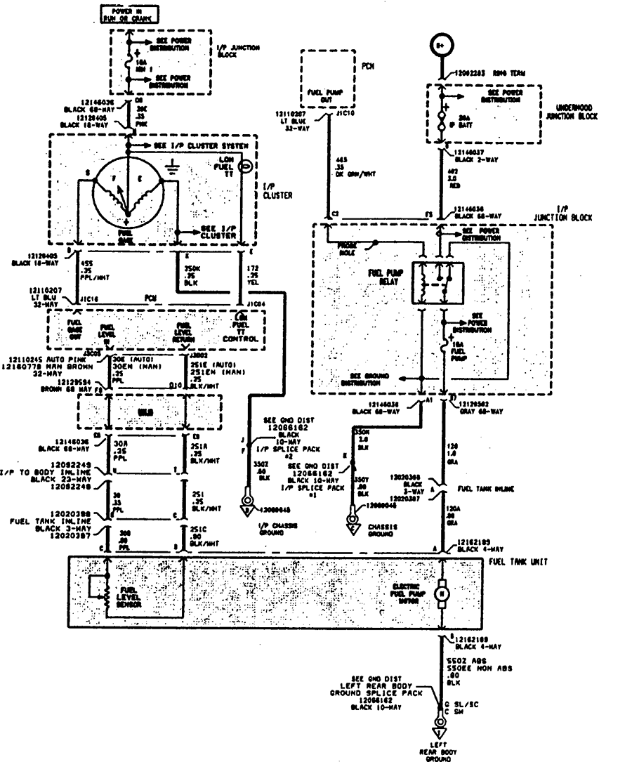 1997 Saturn Fuse Diagram on 93 saturn coolant temp sensor location