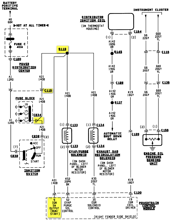 2009 12 11_034700_95_AN_2.5_A21_CKT engine wiring harness dodge dodge wiring diagrams for diy car dodge dakota wiring harness diagram at fashall.co