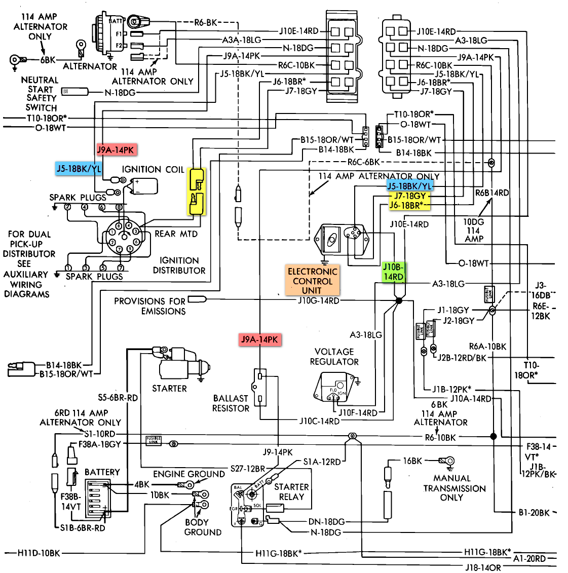 2010 01 02_171810_83_ECU_DIAGRAM all, have a 78 440 motor home, ran fine when parked now, no spark Dodge Electric Brake Wiring Diagram at n-0.co