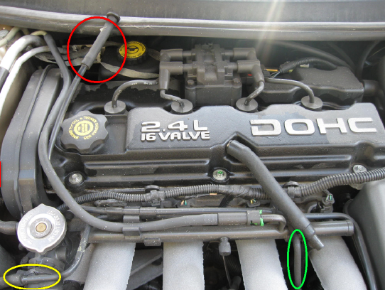 my mom has a 95 dodge stratus, the heat is not getting ... dodge stratus engine diagram #12