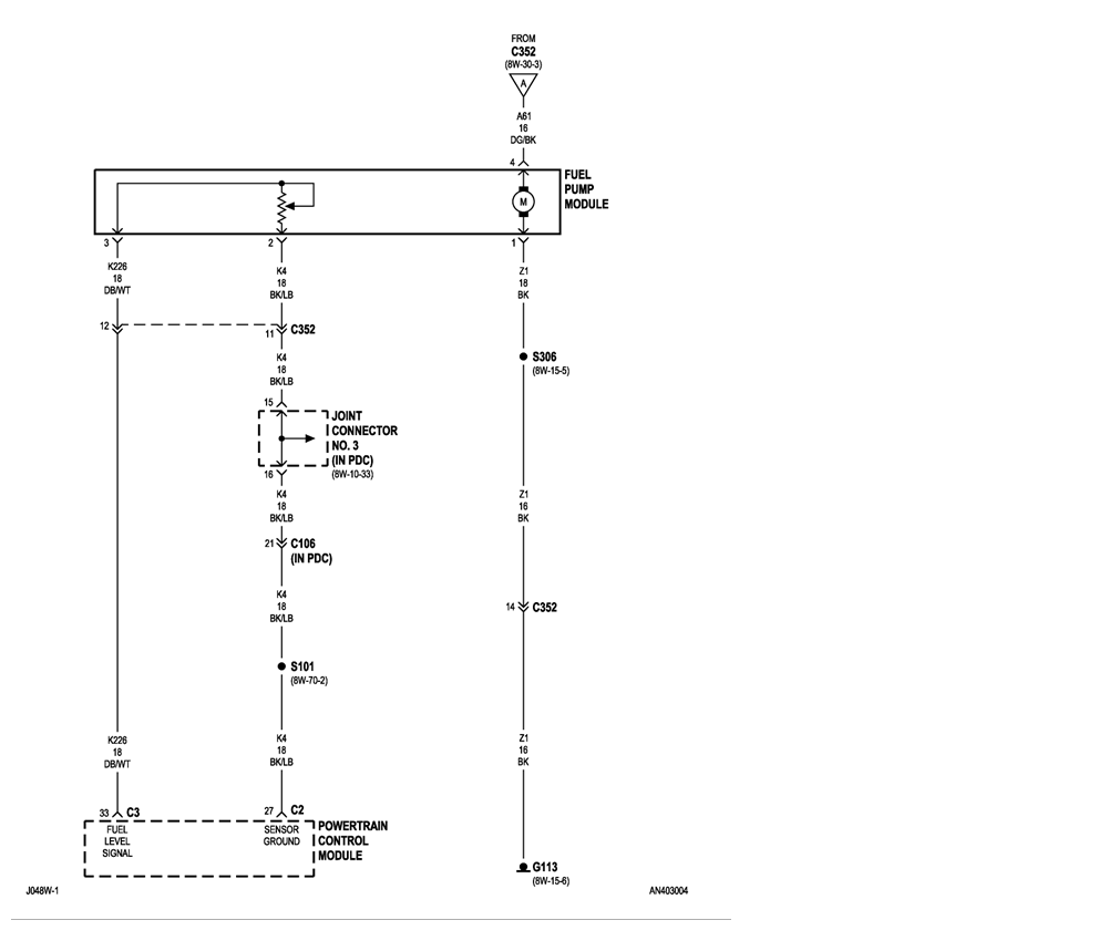 2004 Dodge Dakota 4x4v8the fuel gauge stop workingFuel pump – Dodge Dakota Fuel Gauge Wiring Diagram