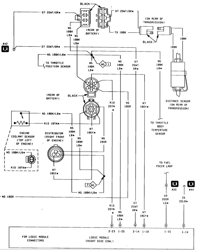 i m working on an 1986 dodge aries with a 2 5 it died running down rh justanswer com Dodge Ram Trailer Wiring Diagram Dodge Ram Radio Wiring Diagram
