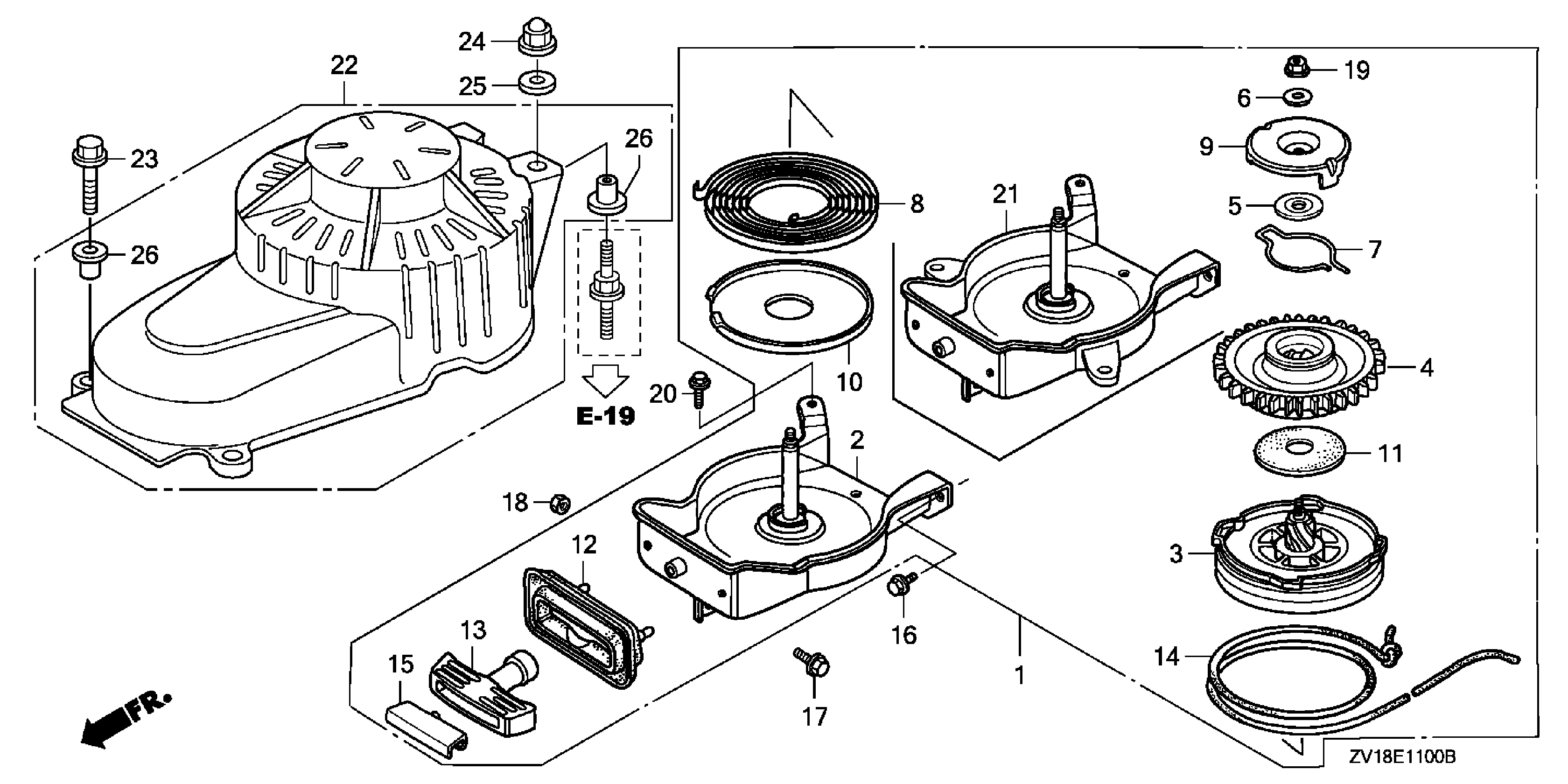 suzuki outboard motor parts diagram