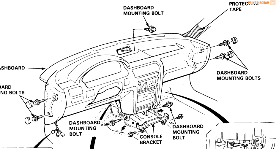 service manual  how to remove dash on a 2012 honda pilot