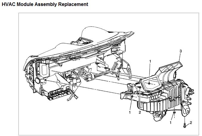 [2009 Saturn Vue Blower Motor Removal] - 2009 Saturn Vue ...
