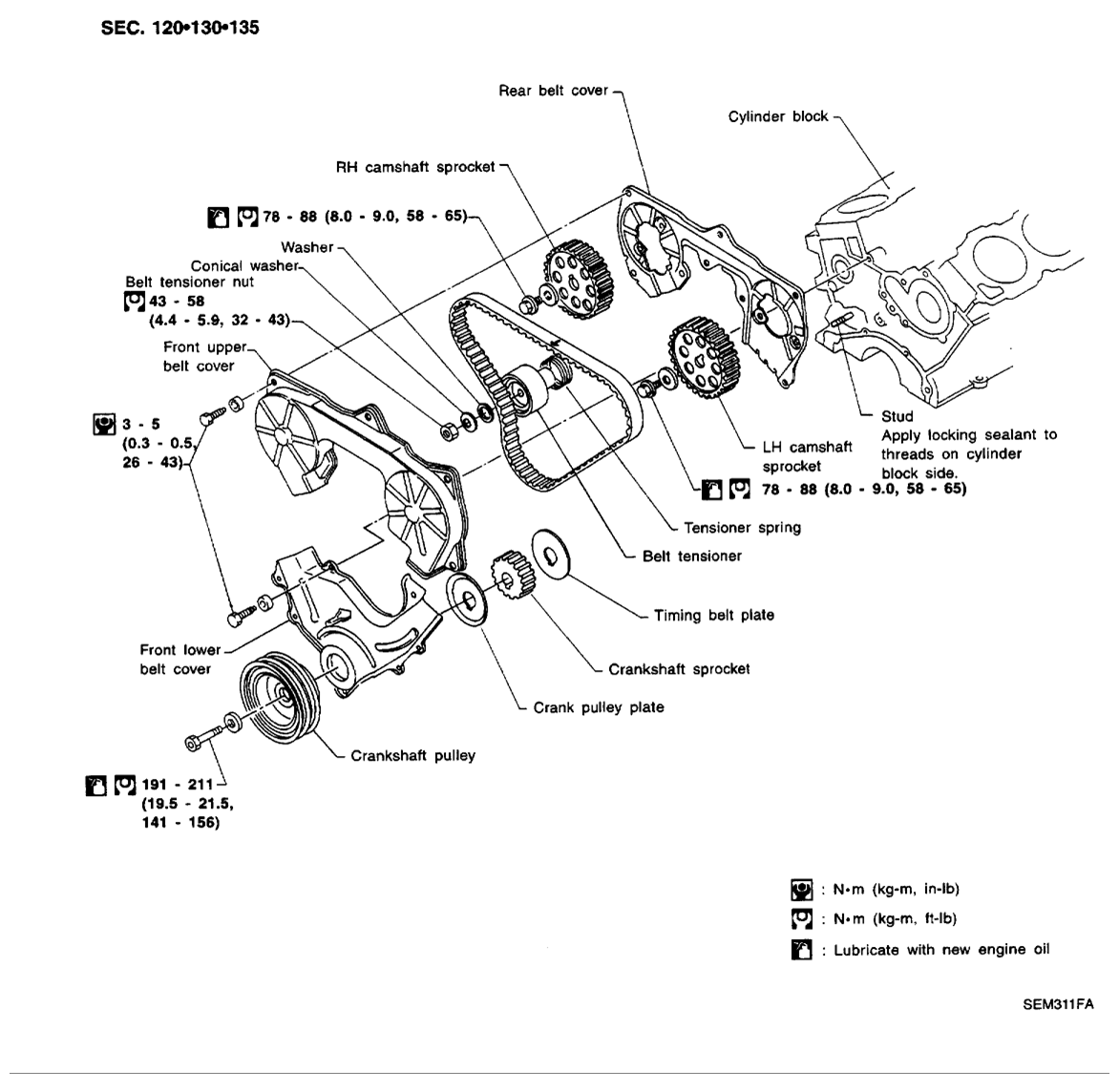 Rear Wheel 1 furthermore How To Replace Timing Chain On Audi A3 1 8 Tfsi 2008 2012 additionally 3lamh 2004 Holden Astra Model Ah04a Sedan Help besides 7piig Ford Ranger Need Set Timing 92 Ford Ranger also T9519579 Need diagram. on crankshaft pulley bolt