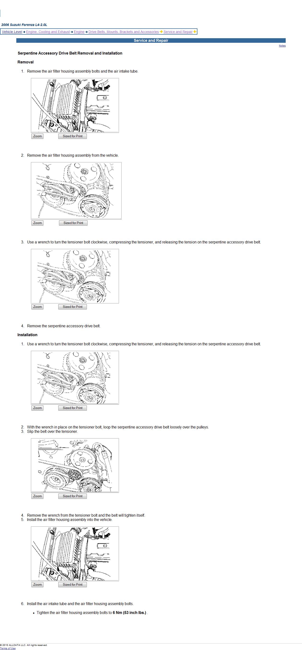 29 2006 Suzuki Forenza Timing Belt Diagram - Wire Diagram ...