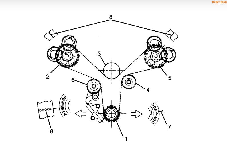 01 isuzu trooper belt diagram