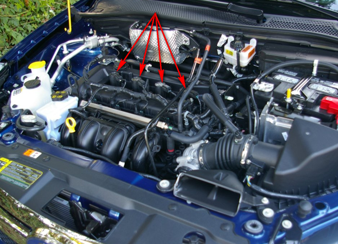How To Change Spark Plugs On A 2008 Focusrhjustanswer: Ford Edge Spark Plug Location At Gmaili.net