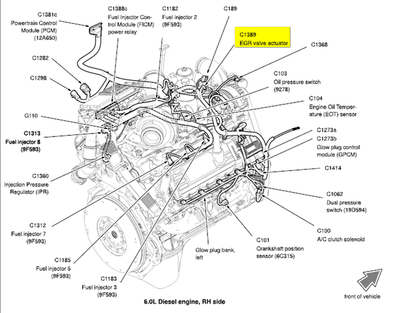 7 3 Sel Engine Wiring Harness. Schematic Diagram. Electronic ...