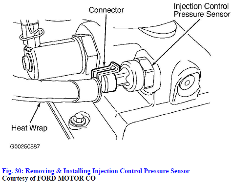 ford 6 0l icp sensor manual guide wiring diagramicp sensor located on the f 250 2003 6 0l maufactured 4 03ford 6 0l icp