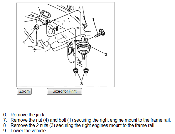instructions on how to replace a rear motor mount on a 2002 cadillac slsRepair Diagrams For 2001 Cadillac Deville Engine Transmission #1