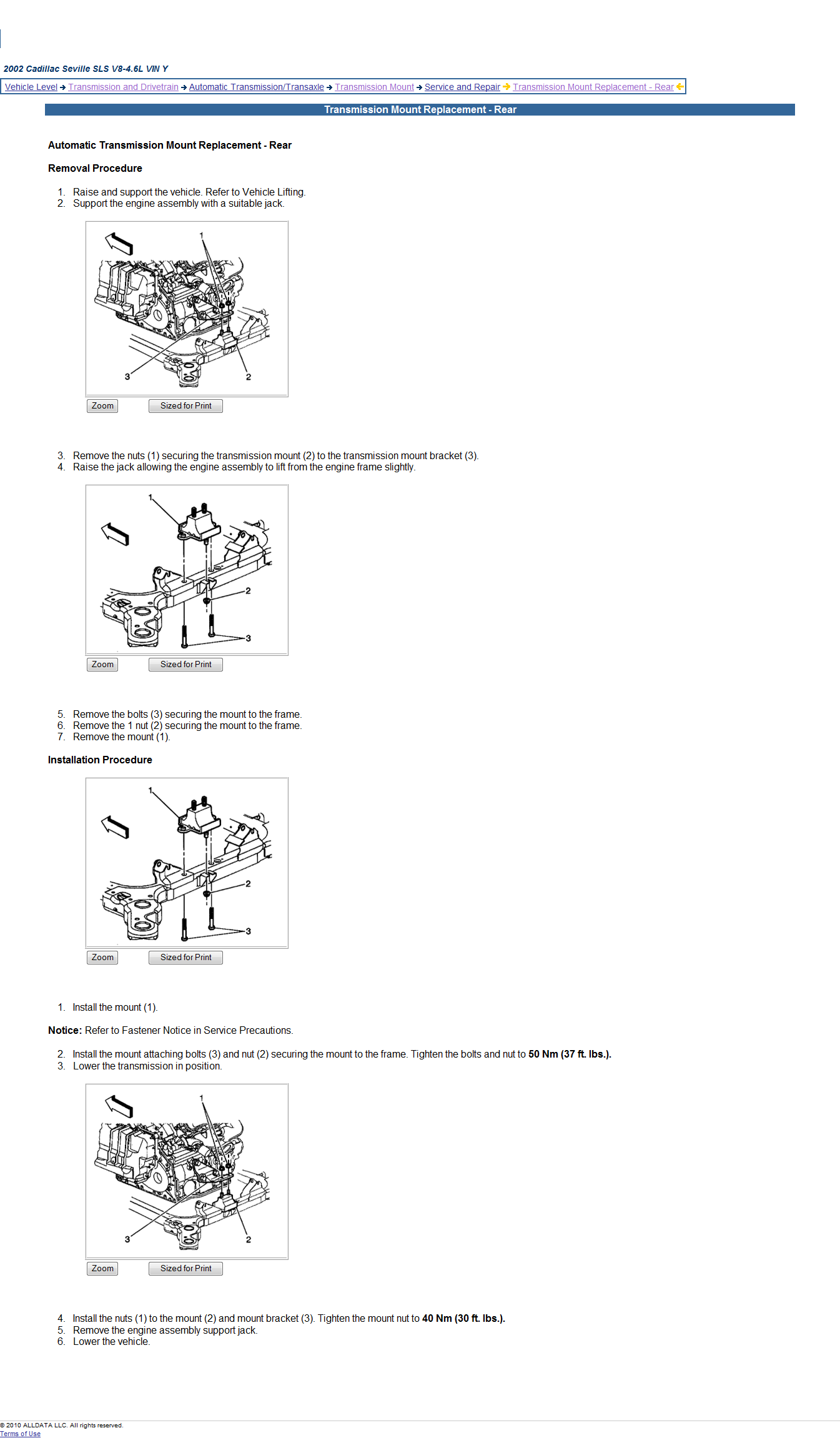 Instructions On How To Replace A Rear Motor Mount On A