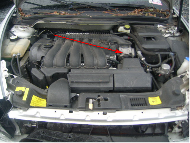How do i locate the maf of a 2005 volvo 240 to clean it and do you have photo diagram to send me ...