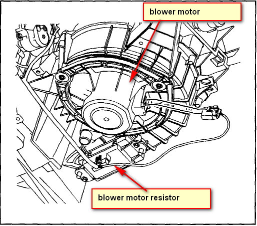 I have a 2005 grand prix and the blower moter went out and for 2004 grand prix blower motor not working