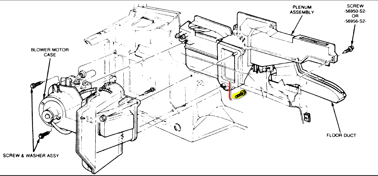 98 Explorer  The Heater Core Box  Instrument Panel