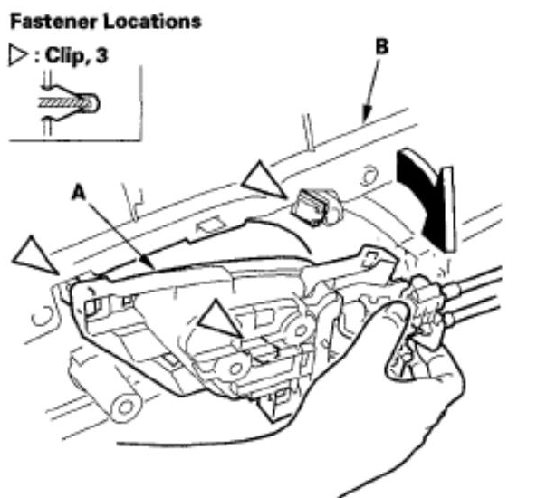 How Do I Replace The Passenger Side Mirror Assembly On A