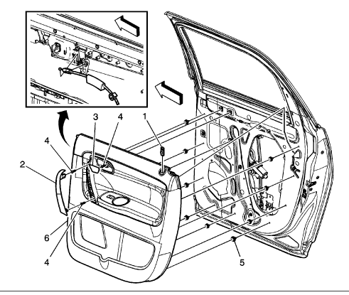 How Do You Remove The Rear Door Panel I Know That There Are