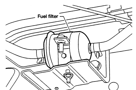 2000 Nissan Altima Fuel Filter Location