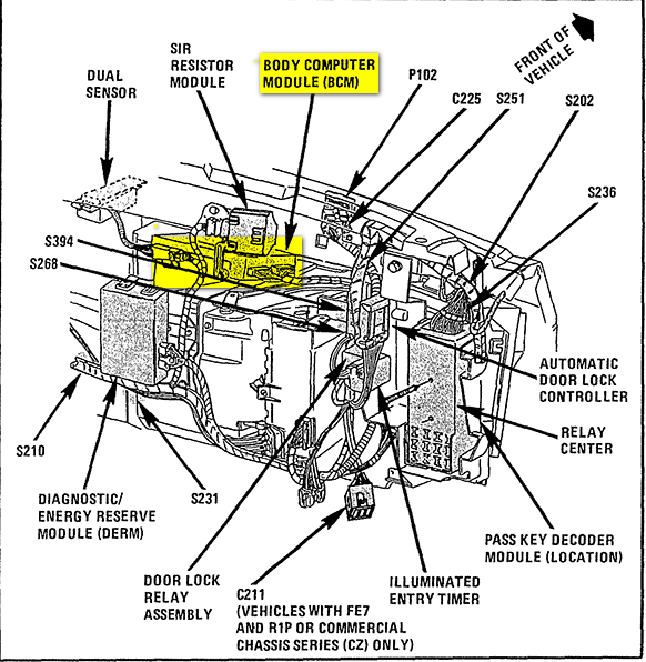 on cadillac eldorado brake line diagram