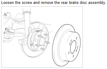 How do I remove the rear brake calipers to replace pads?