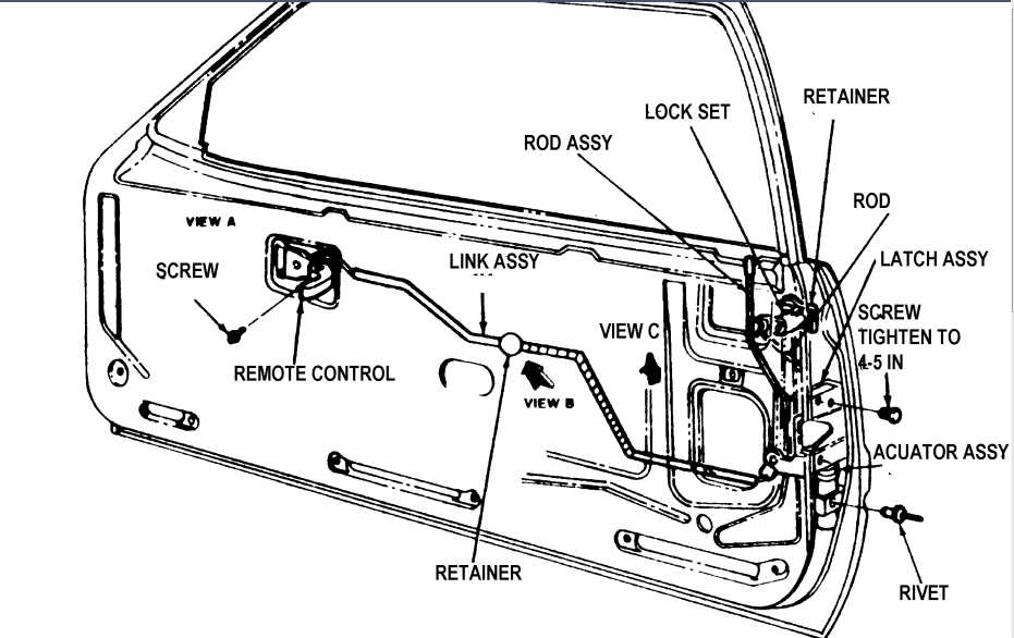 2007 ford explorer door lock diagram  ford  auto parts