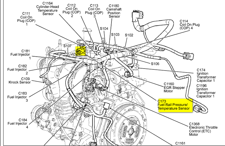 2006 ford focus fuel system diagram