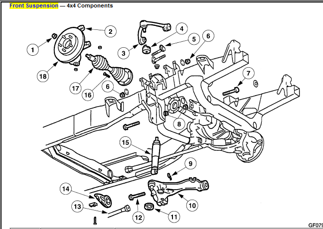 2002 f150 front end diagram