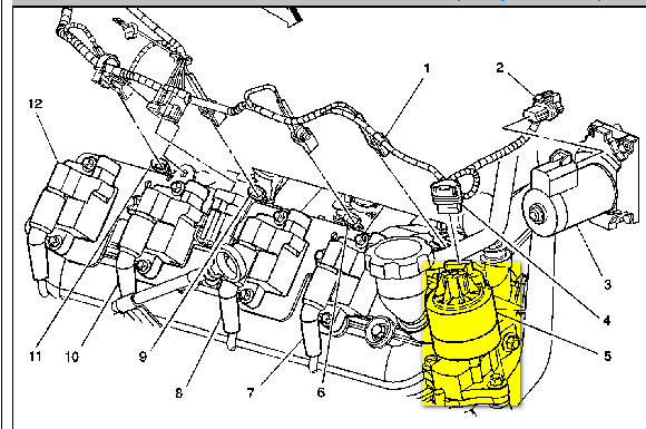 Need Location Of Egr Valve On A 2002 Chevy Avalanche 53 V8 1500 Rhjustanswer: 2002 Cavalier Egr Valve Location At Elf-jo.com