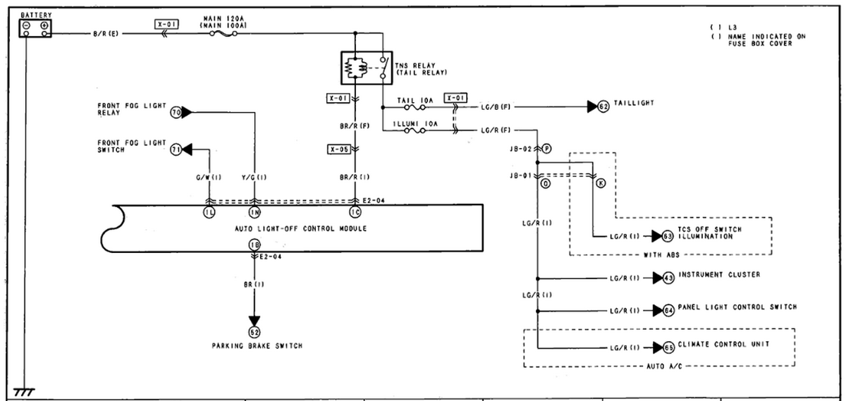 Where Do I Get A Wiring Diagram For Tail Lamp Relay Tail Lamps Don U0026 39 T Light