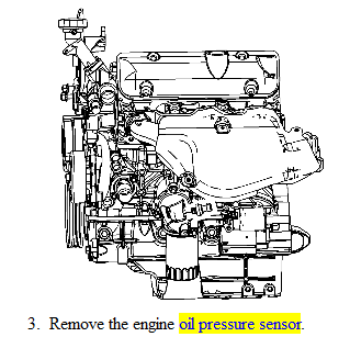 68lxi Replace Oil Pressure Sending Unit 2006 Impala V6 on 2009 chevy silverado oil pressure switch location