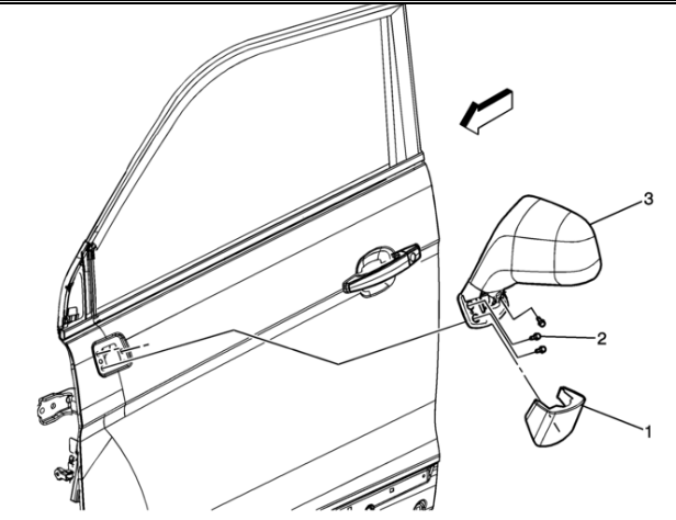 i need to replace the entire assembly side mirror on a