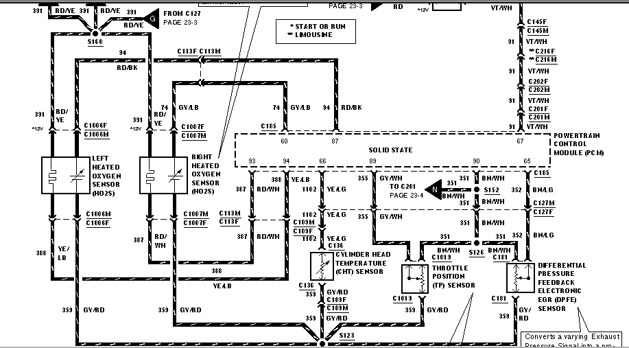 2000 ford schematic for the electrical fan system relays any
