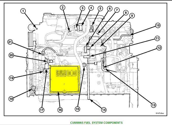 Vin 3d7lx38c66g237160 2006 Dodge Ram 3500 4x4 W Cummins Diesel Rhjustanswer: Dodge Ram Pcm Location At Gmaili.net