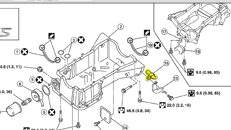 2006 Nissan Quest Cam Position Sensor Location