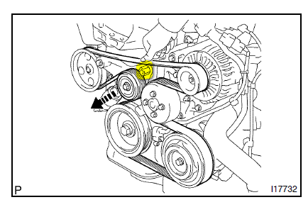 Drive Belt Diagram 2008 Toyota Corolla